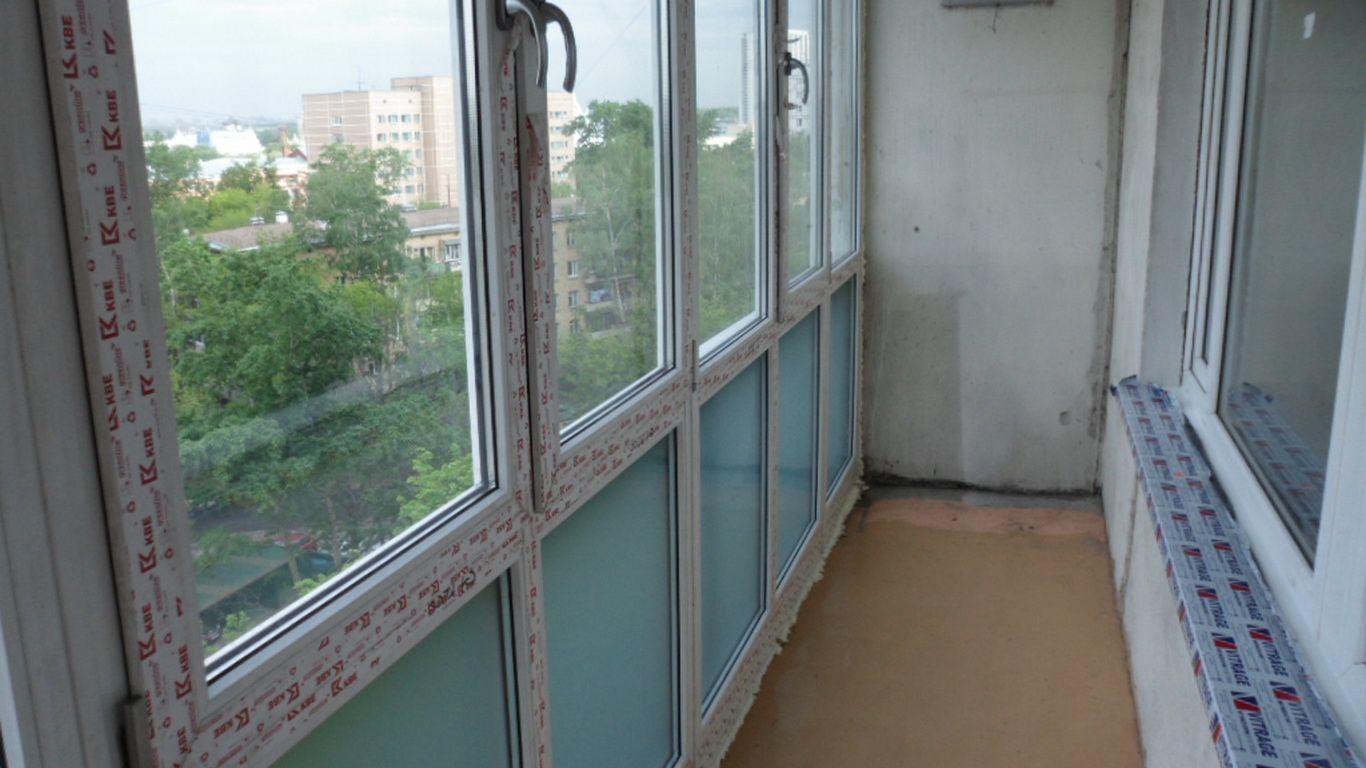 Установка пластикового окна с балконом своими руками