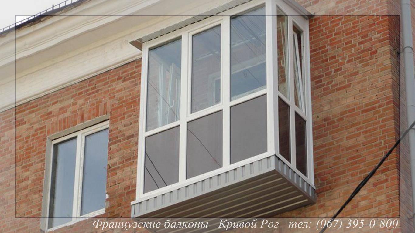 Панорамное остекление балкона в хрущевке..