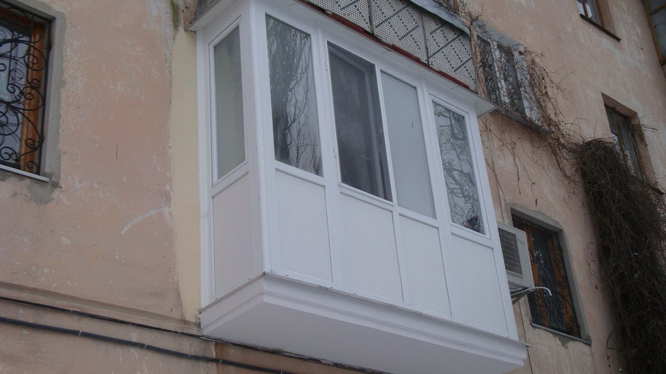 металлопластиковые балконы кривой рог