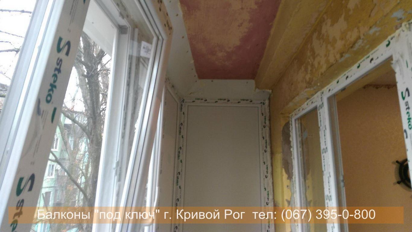 Обшивка балкона внутри фото